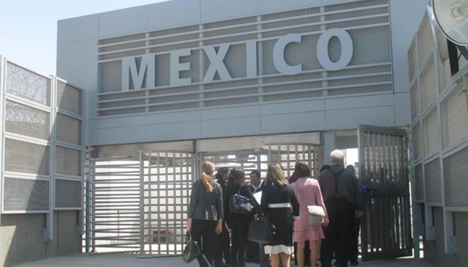 gate Entering Tijuana